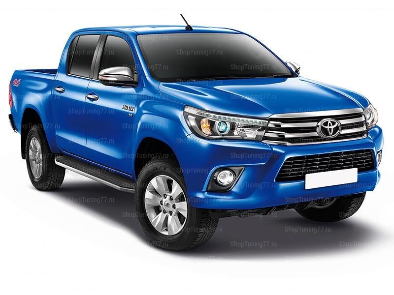 Пороги площадка Toyota Hilux (2015-)
