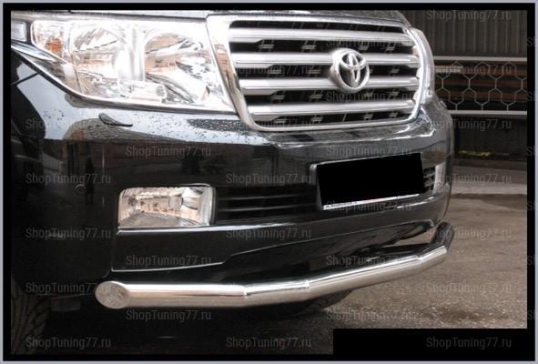 Передняя защита труба 60 мм Toyota Land Cruiser 200 (2012-)