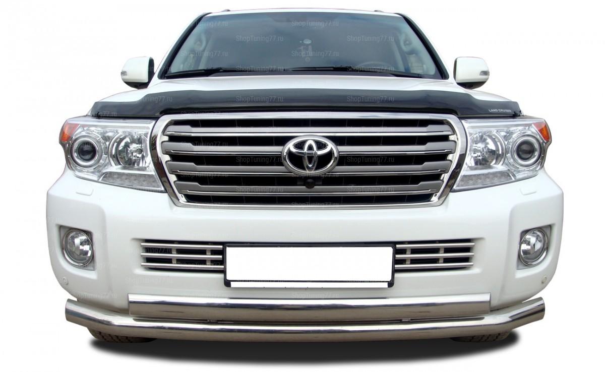 Решетка Передняя 16 мм Toyota Land Cruiser 200 (2012-)