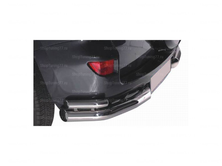 Защита задняя (уголки) 60/42 мм Toyota RAV 4L (2010-)