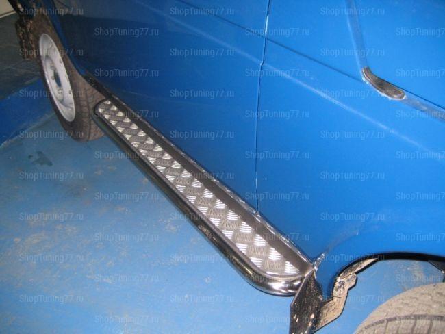 Пороги с алюмин. листом 3дв 53 мм VAZ 21213 (Нива)